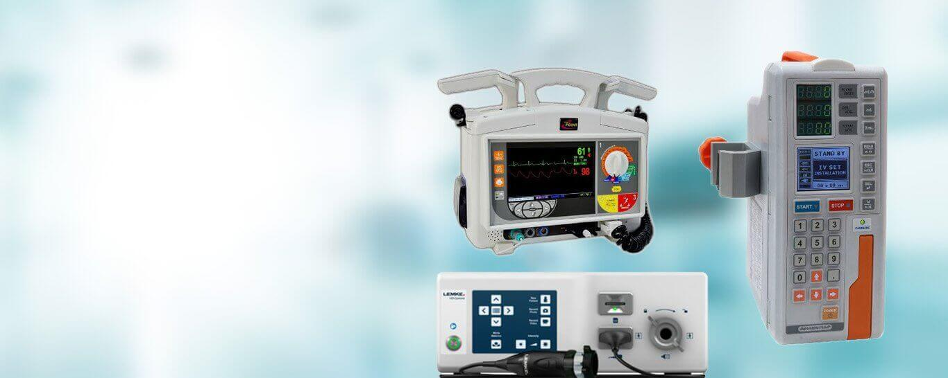 Wide range of high quality electro-medical devices.