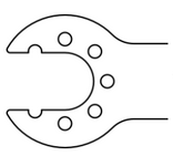 Saw Blade fits to AO (Synthes, Sodem)
