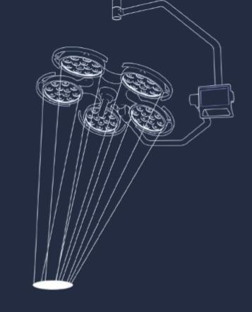 Surgical Illumination System 2 Arm-54